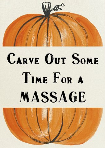 Carve Out Some Time For A Massage!
